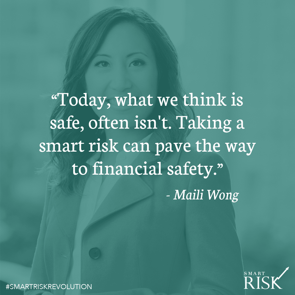 "Too often ""risk"" is a negative word"