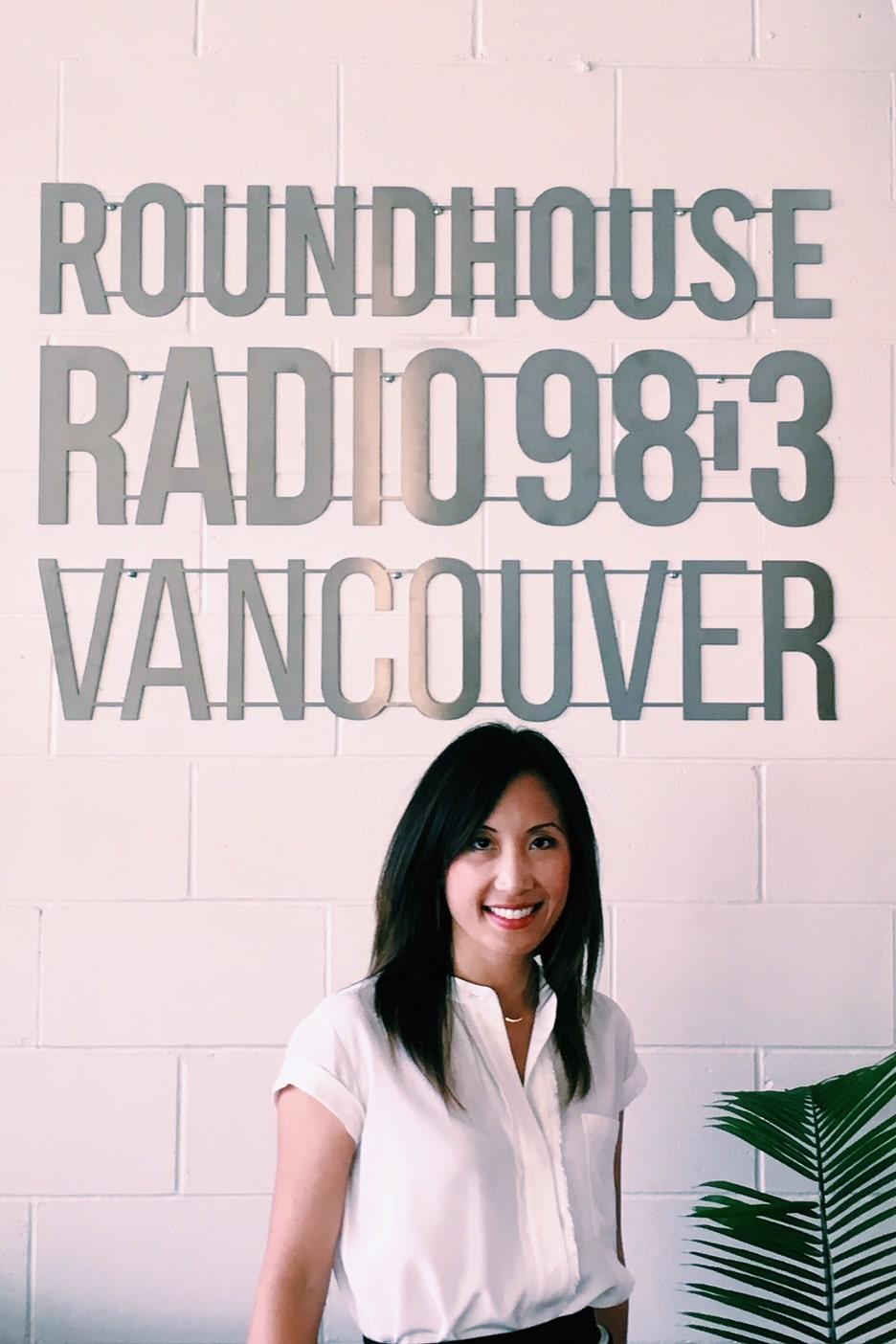 Maili Wong on BIV Roundhouse Radio 98.3FM with host Tyler Orton