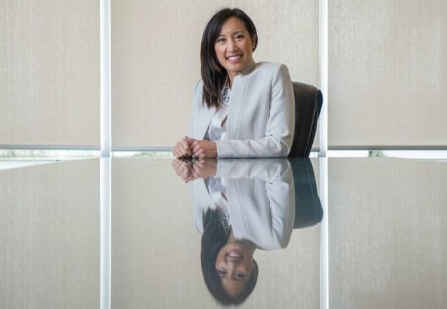 Maili Wong of CIBC Wood Gundy in Vancouver wants to help Canadians think about risk and how to invest their money.  (Arlen Redekop/PNG)