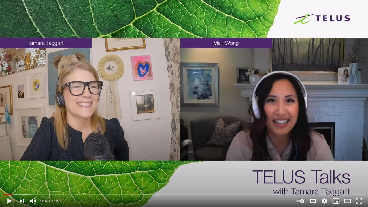 Telus Talks with Maili Wong
