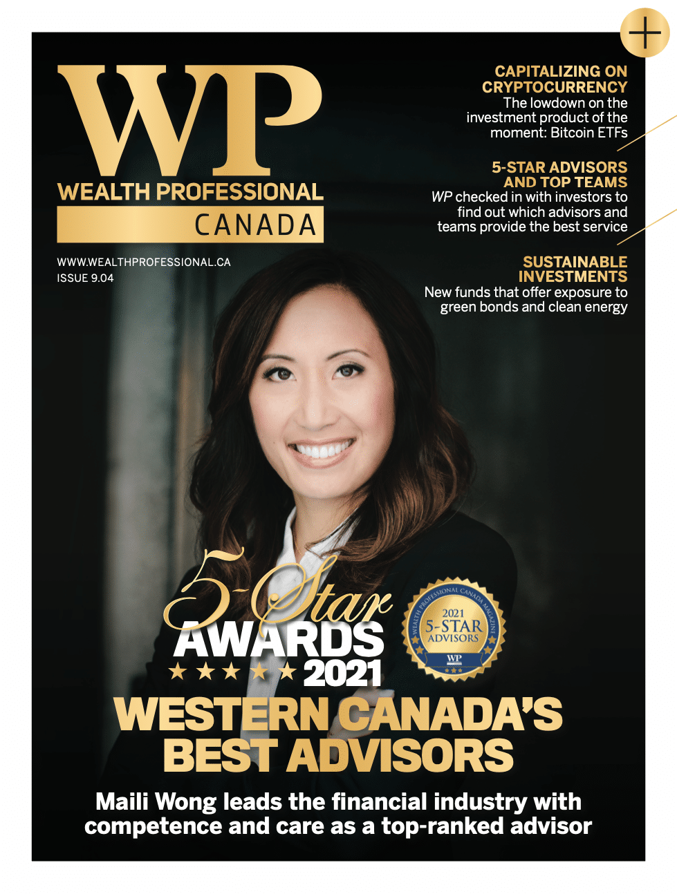 Five Star Best Advisors in Western Canada – Maili Wong